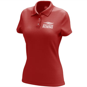 Newport Sea Base Rowing Embroidered Performance Ladies Polo