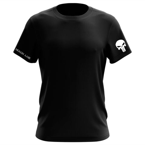 100% Cotton Newport Sea Base Rowing Black T-Shirt