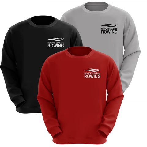 50/50 Newport Sea Base Rowing Crewneck Sweatshirt