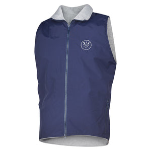 SxS Nylon Fleece Vest (Navy)