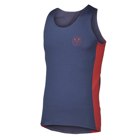 Sew Sporty Fitted Tech Tank - Dryflex Poly Spandex (Navy)