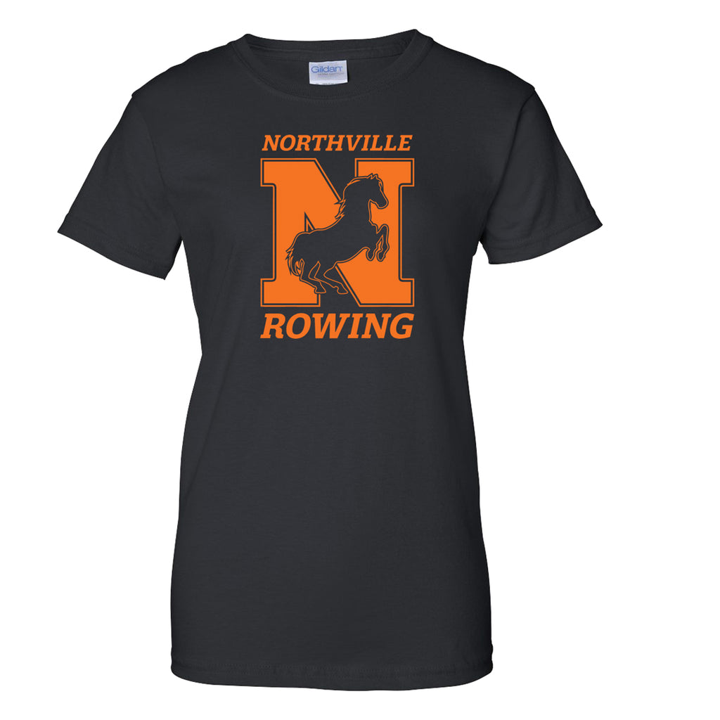 100% Cotton Northville Women's Team Spirit T-Shirt