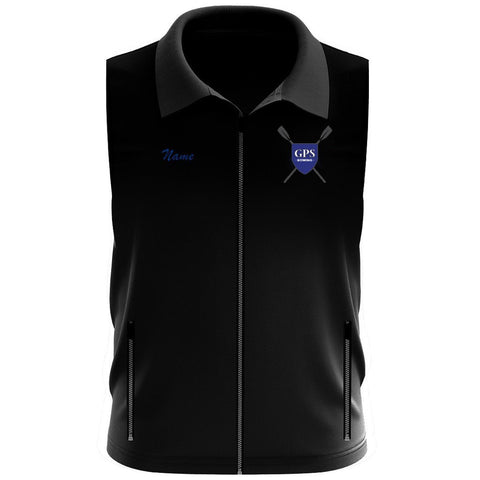Girls Prep School Crew Team Nylon/Fleece Vest