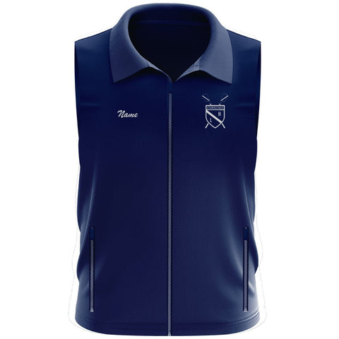 Litchfield Hills Rowing Club Team Nylon/Fleece Vest
