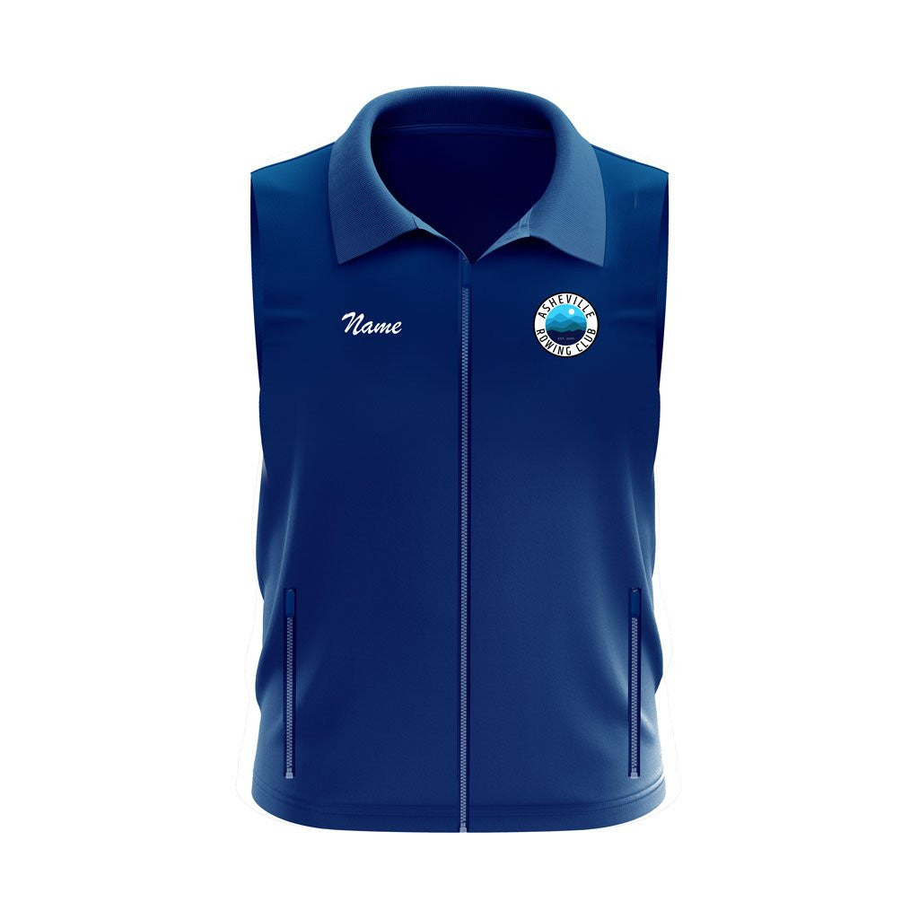 Asheville Rowing Club Team Nylon/Fleece Vest