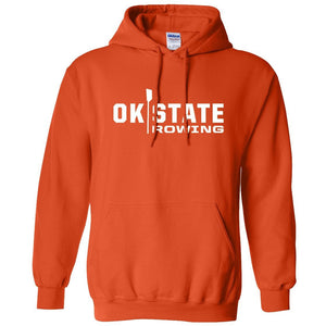 50/50 Hooded Oklahoma State Rowing Pullover Sweatshirt