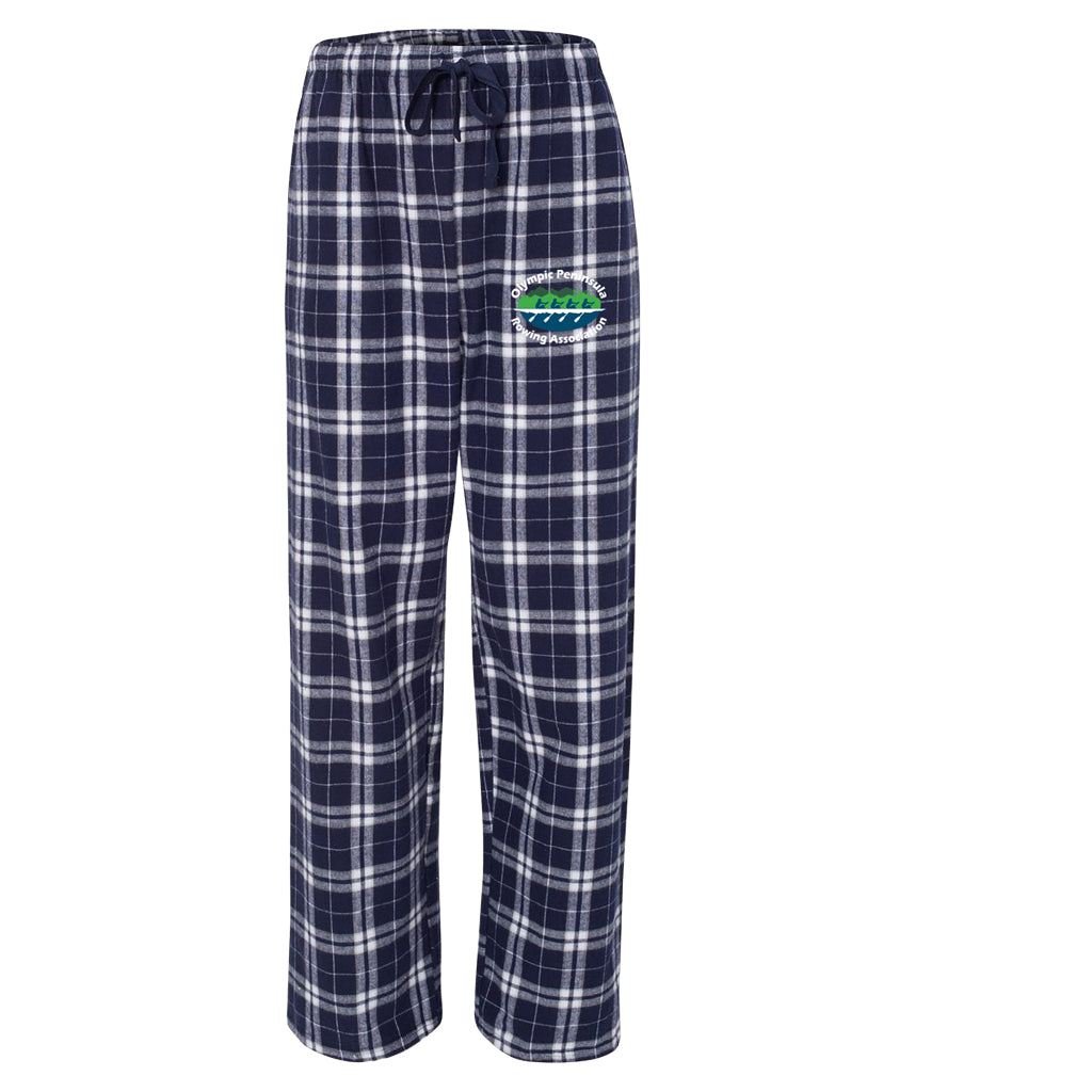 Olympic Peninsula Rowing Association Flannel Pants