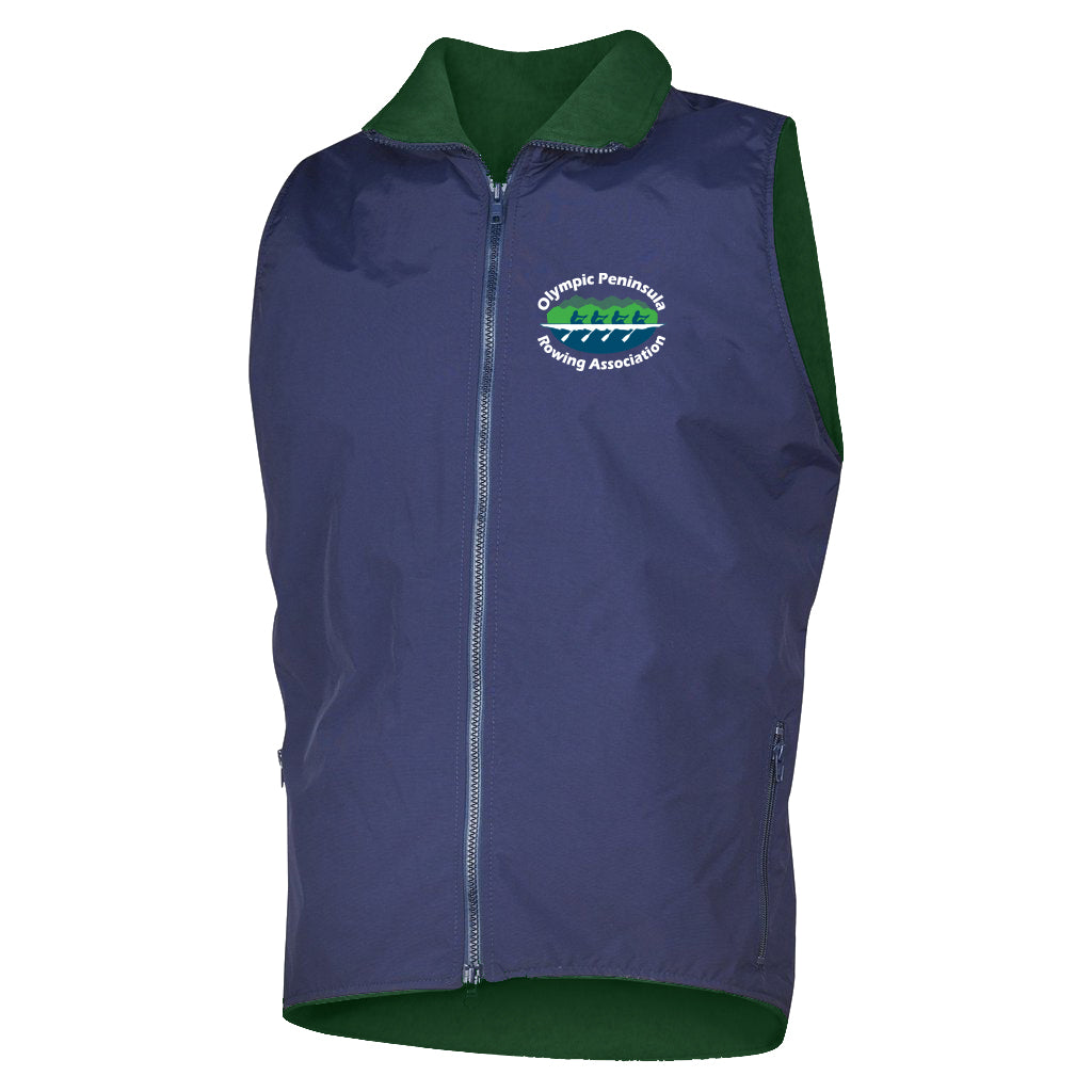 Olympic Peninsula Rowing Association Team Nylon/Fleece Vest