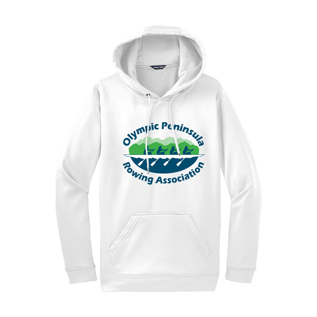 Olympic Peninsula Rowing Association Pullover Poly Performance Hooded Sweatshirt
