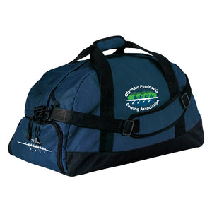 Olympic Peninsula Rowing Association Team Race Day Duffel Bag