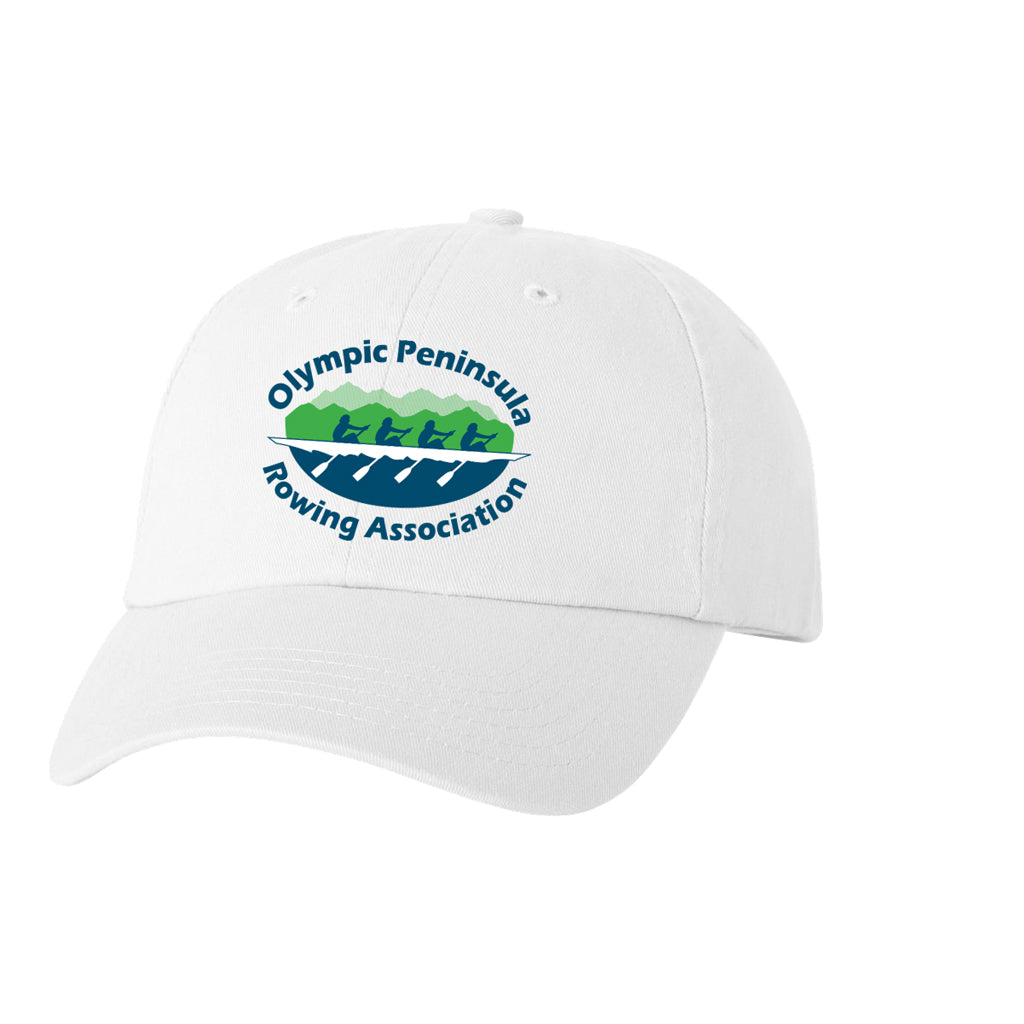 Olympic Peninsula Rowing Association Cotton Twill Hat