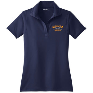 Albany Rowing Center Embroidered Performance Ladies Polo