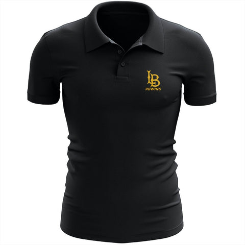 Long Beach Rowing Embroidered Performance Men's Polo