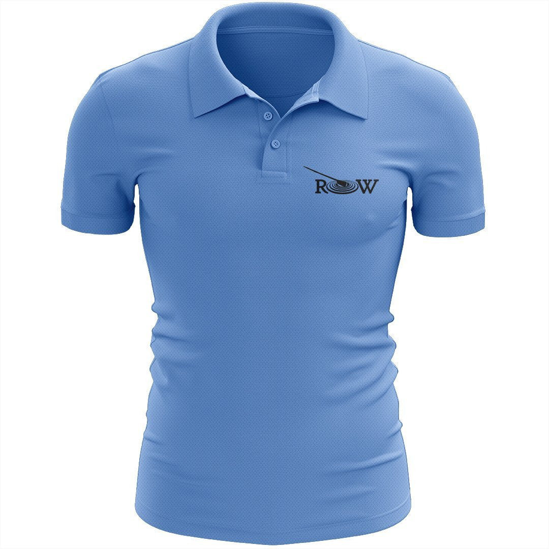 R.O.W. Embroidered Performance Men's Polo