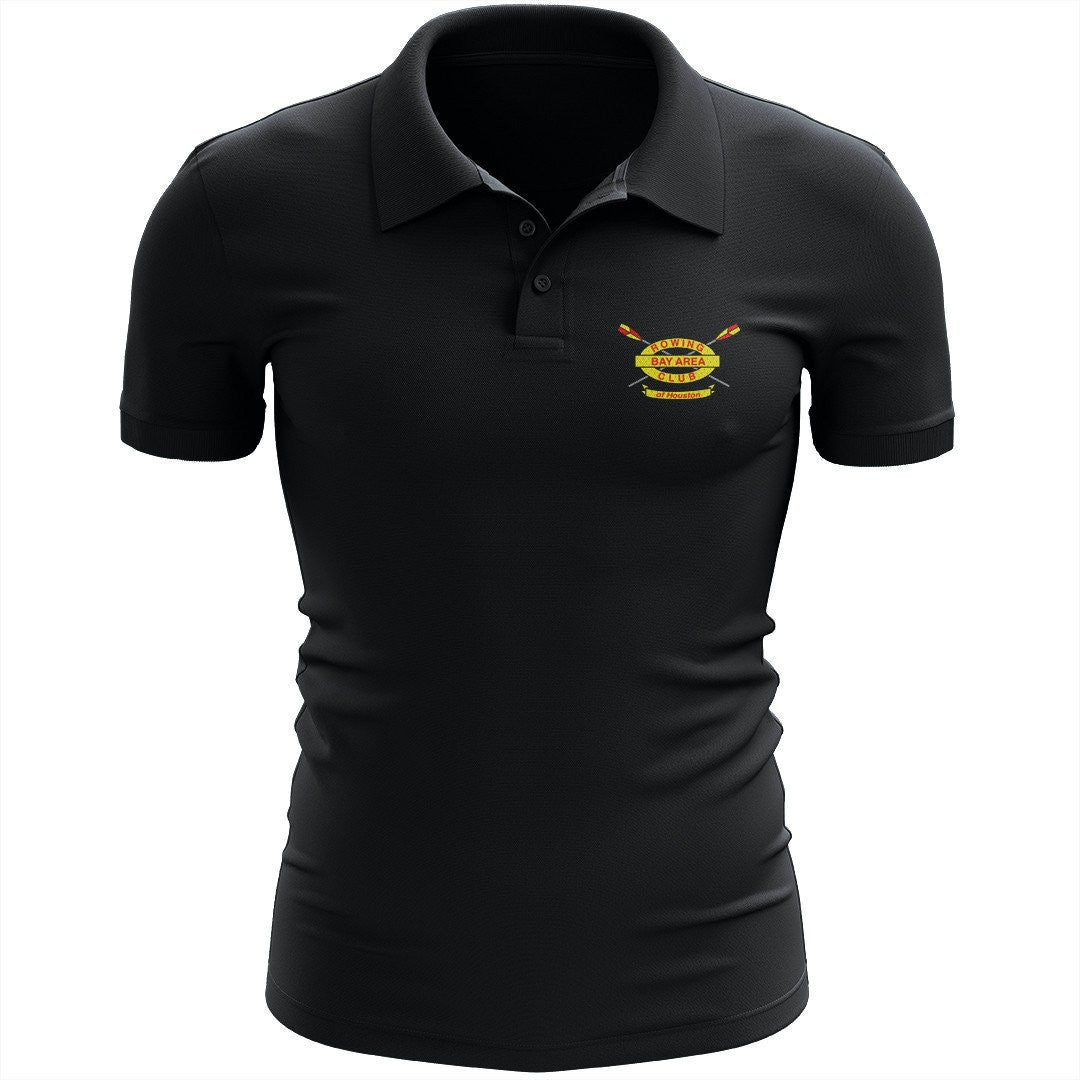 Bay Area Rowing Club Embroidered Performance Men's Polo