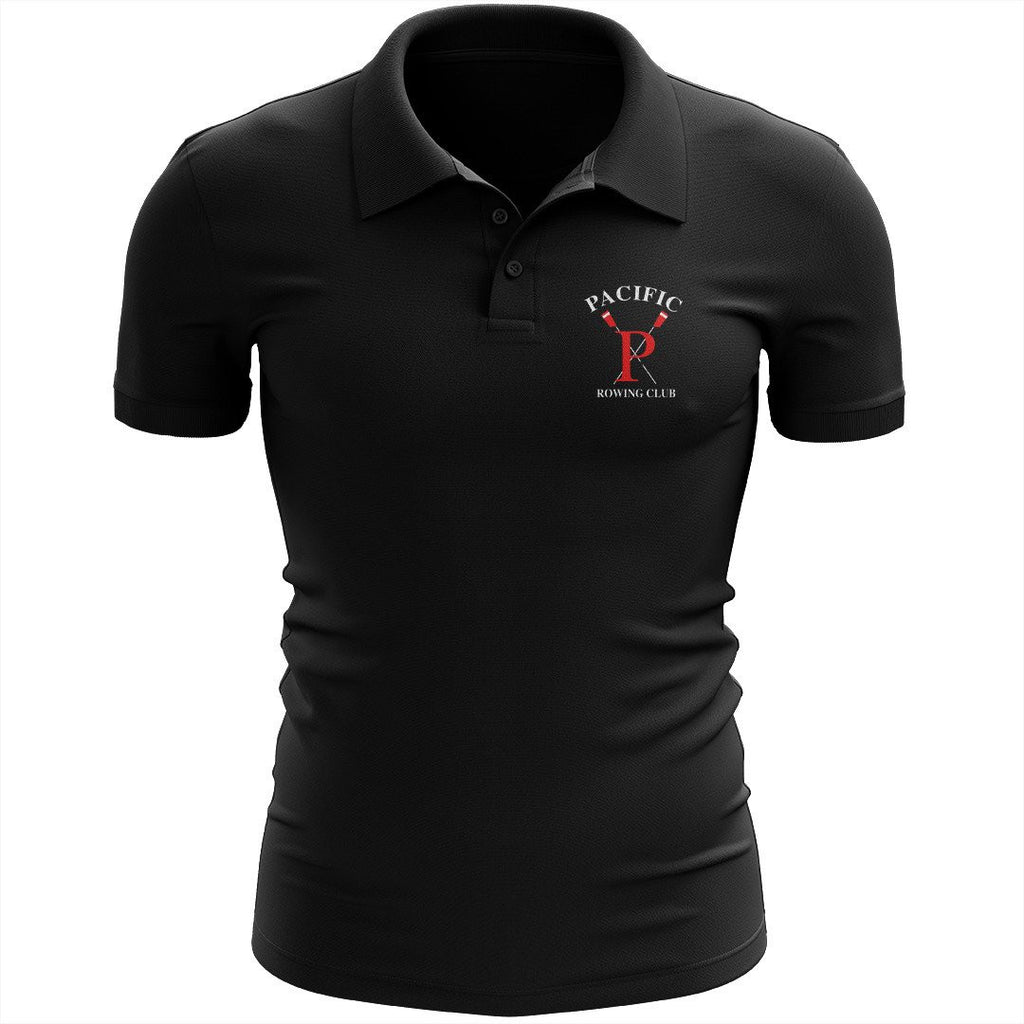Pacific Rowing Embroidered Performance Men's Polo