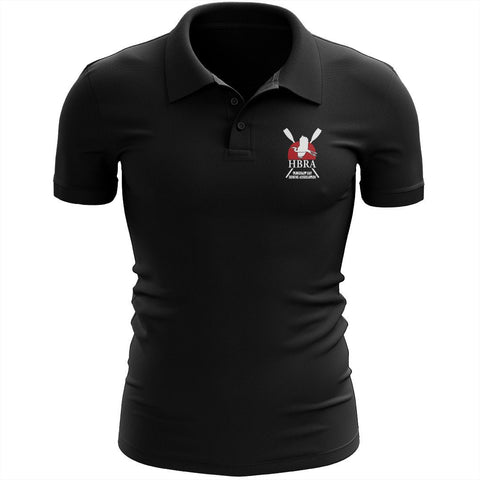 Humboldt Bay Rowing Association Embroidered Performance Men's Polo