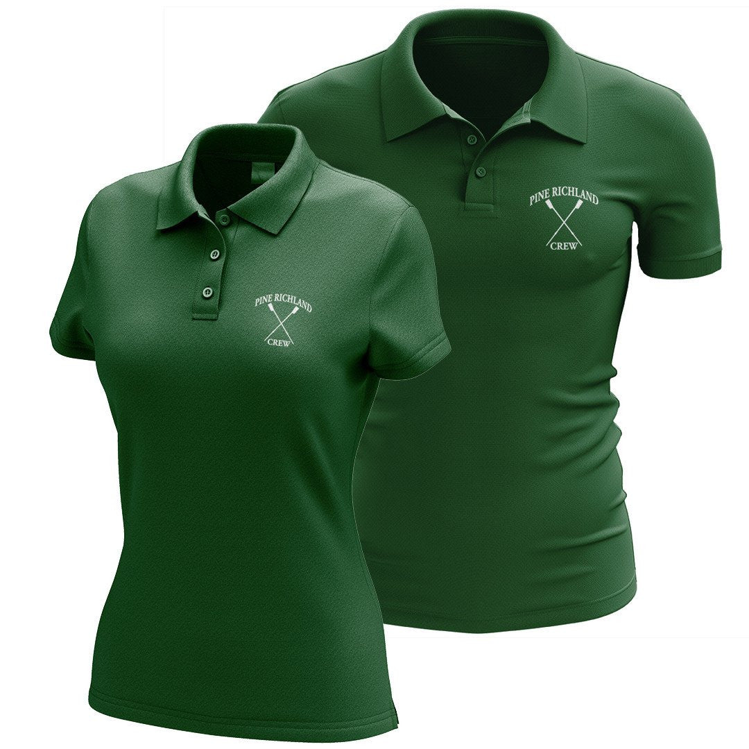 Pine Richland Crew Embroidered Cotton Polo