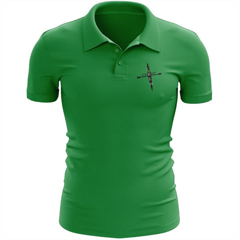 Crew 4 Christ Embroidered Performance Men's Polo