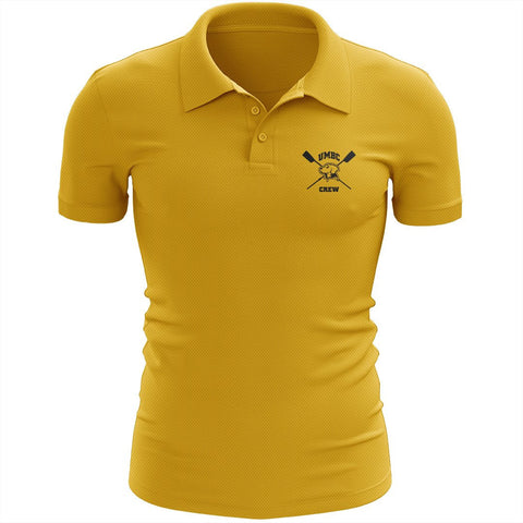UMBC Crew Embroidered Performance Men's Polo