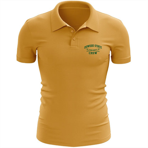 Oswego State Crew Embroidered Performance Men's Polo