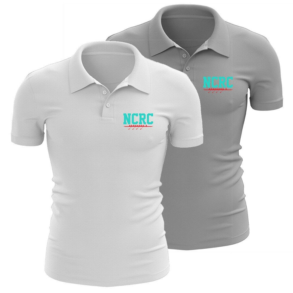 North Carolina Rowing Center Embroidered Performance Men's Polo