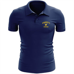 Wyandotte Rowing Embroidered Performance Men's Polo