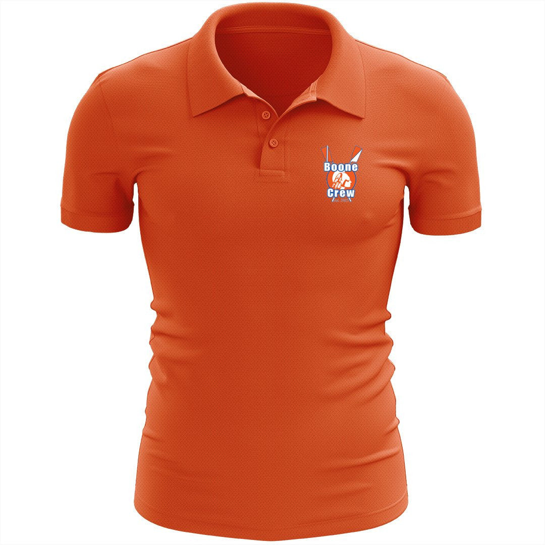 Boone Crew Embroidered Performance Men's Polo