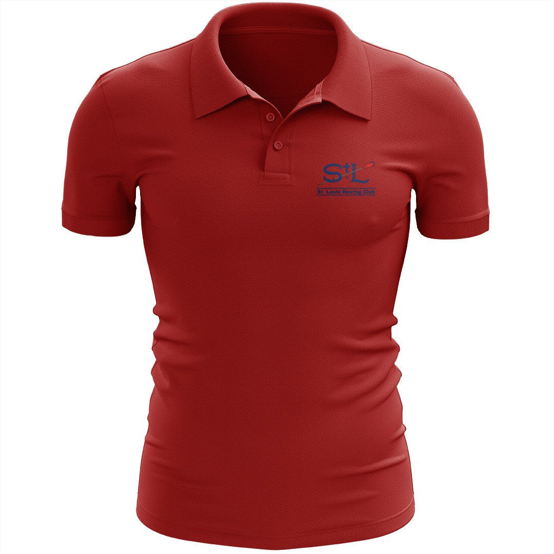 St Louis Rowing Club Embroidered Performance Men's Polo
