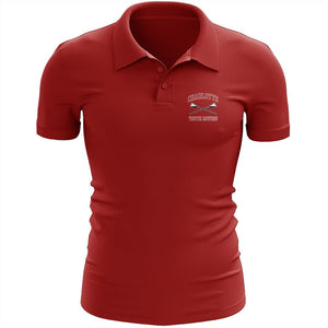 Charlotte Youth Rowing Club Embroidered Performance Men's Polo