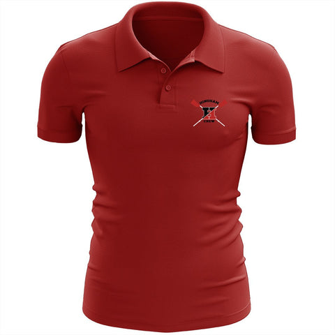 Hingham Crew Embroidered Performance Men's Polo