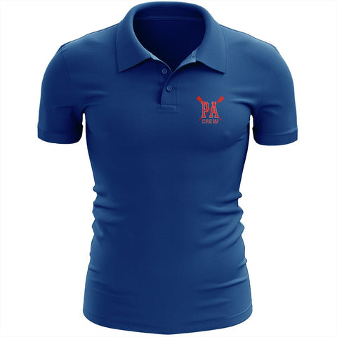 Princess Anne Crew Embroidered Performance Men's Polo