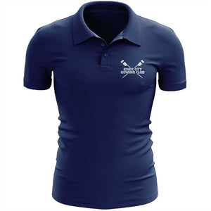 River City Rowing Club  Embroidered Performance Mens Polo