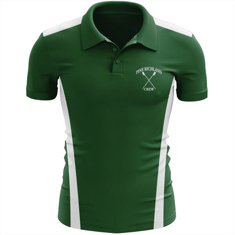 Pine Richland Crew Embroidered Performance Polo