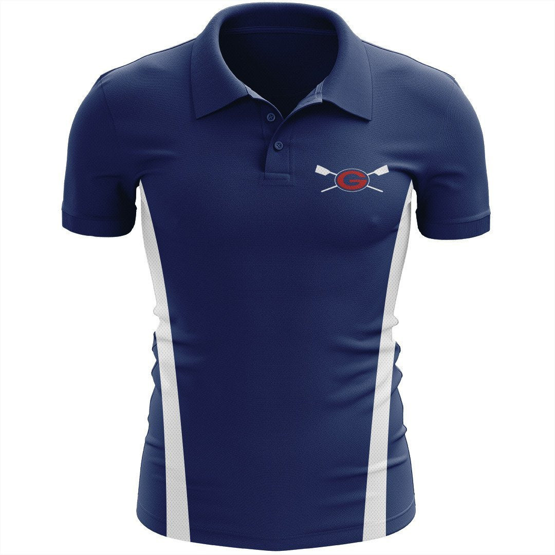 Grassfield Crew Embroidered Performance Men's Polo