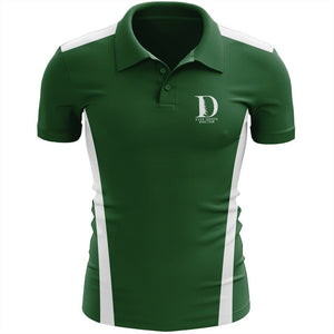 Ever Green Boat Club Embroidered Performance Team Polo