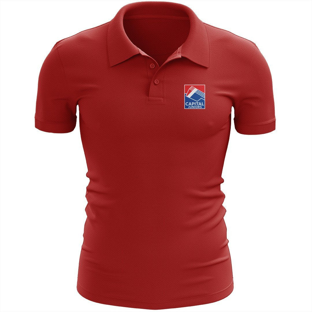 Capital Rowing Juniors Embroidered Performance Men's Polo