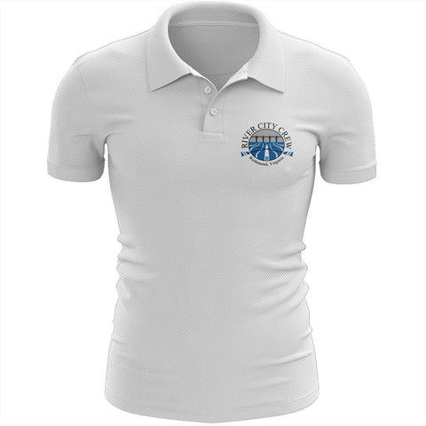 River City Crew Embroidered Performance Men's Polo