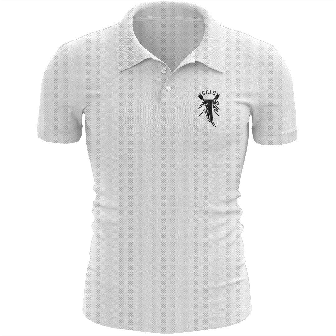 Cambridge Rindge and Latin School Crew Embroidered Performance Men's Polo