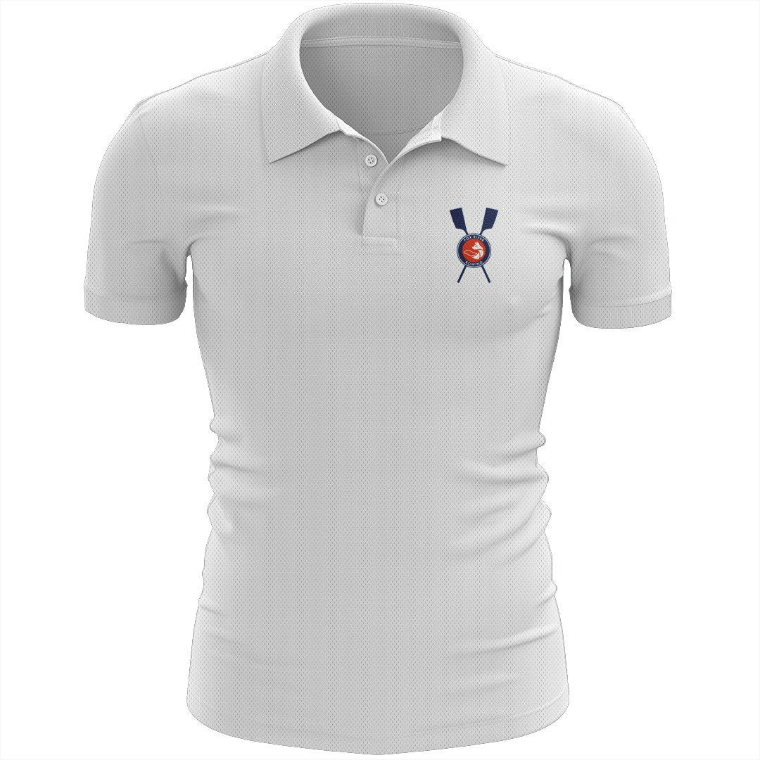 Fox River Rowing Association Embroidered Performance Men's Polo