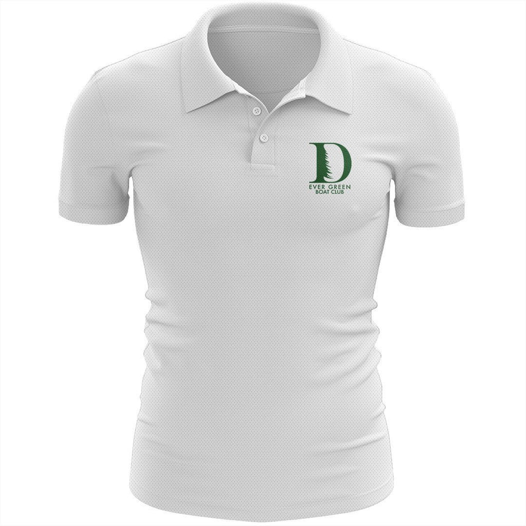 Ever Green Boat Club Embroidered Performance Men's Polo