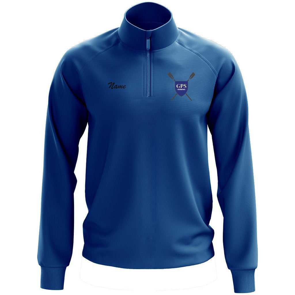 Girls Prep School Crew Performance Pullover