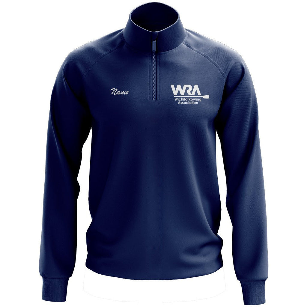 Wichita Rowing Association Mens Performance Pullover