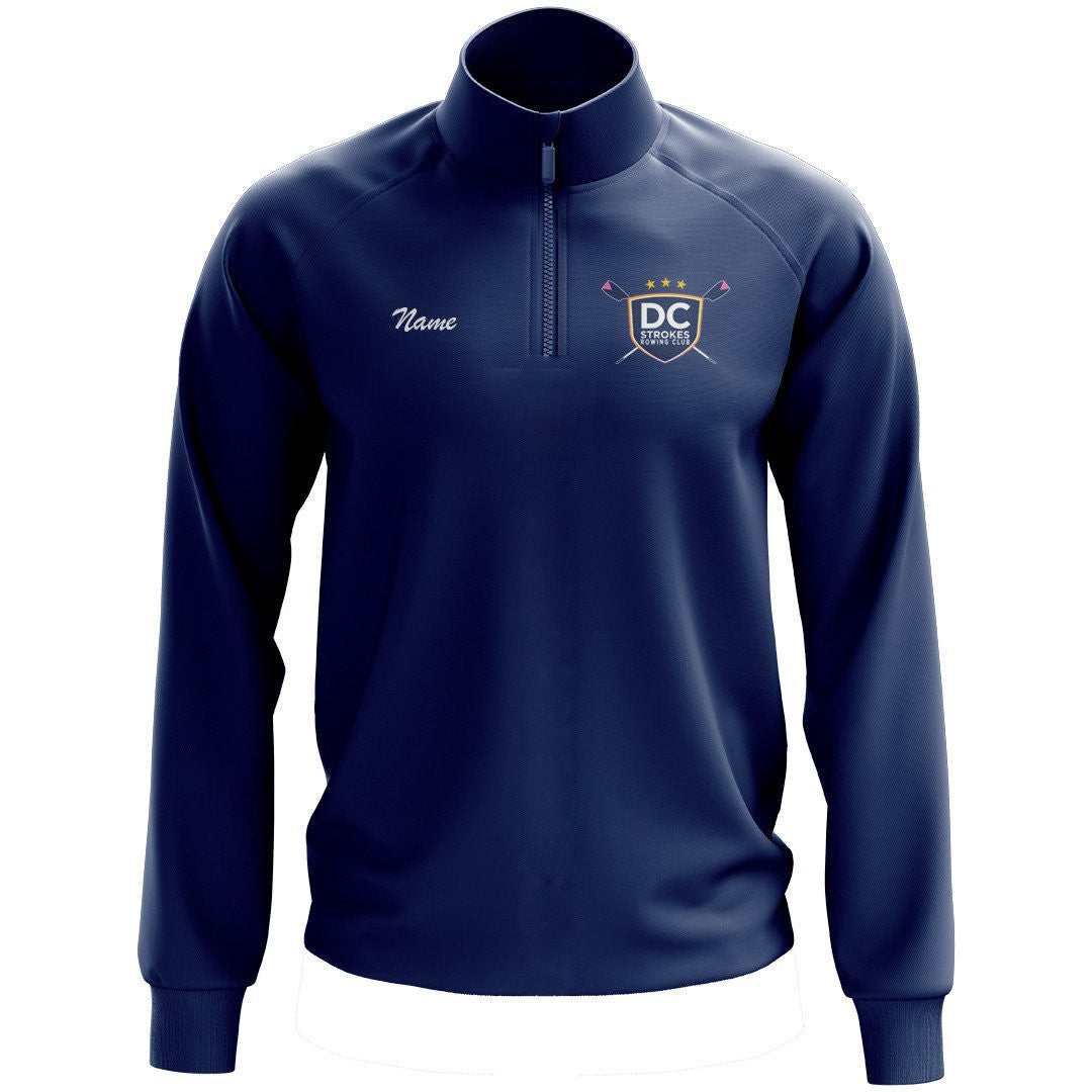DC Strokes Rowing Club Mens Performance Pullover
