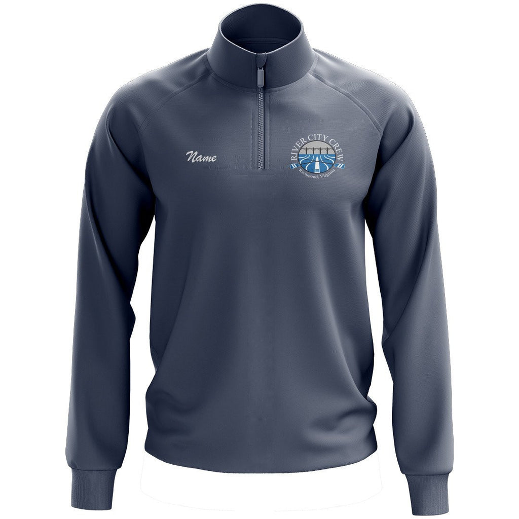 River City Crew Mens Performance Pullover