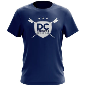 DC Strokes Rowing Club Men's Drytex Performance T-Shirt