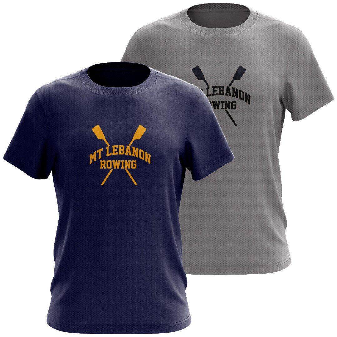 MT Lebanon Rowing Men's Drytex Performance T-Shirt