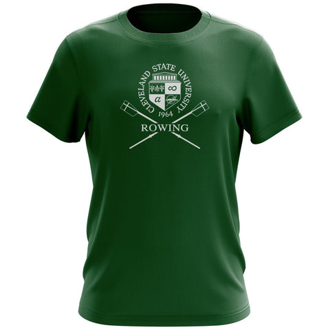 Cleveland State University Rowing Men's Drytex Performance T-Shirt