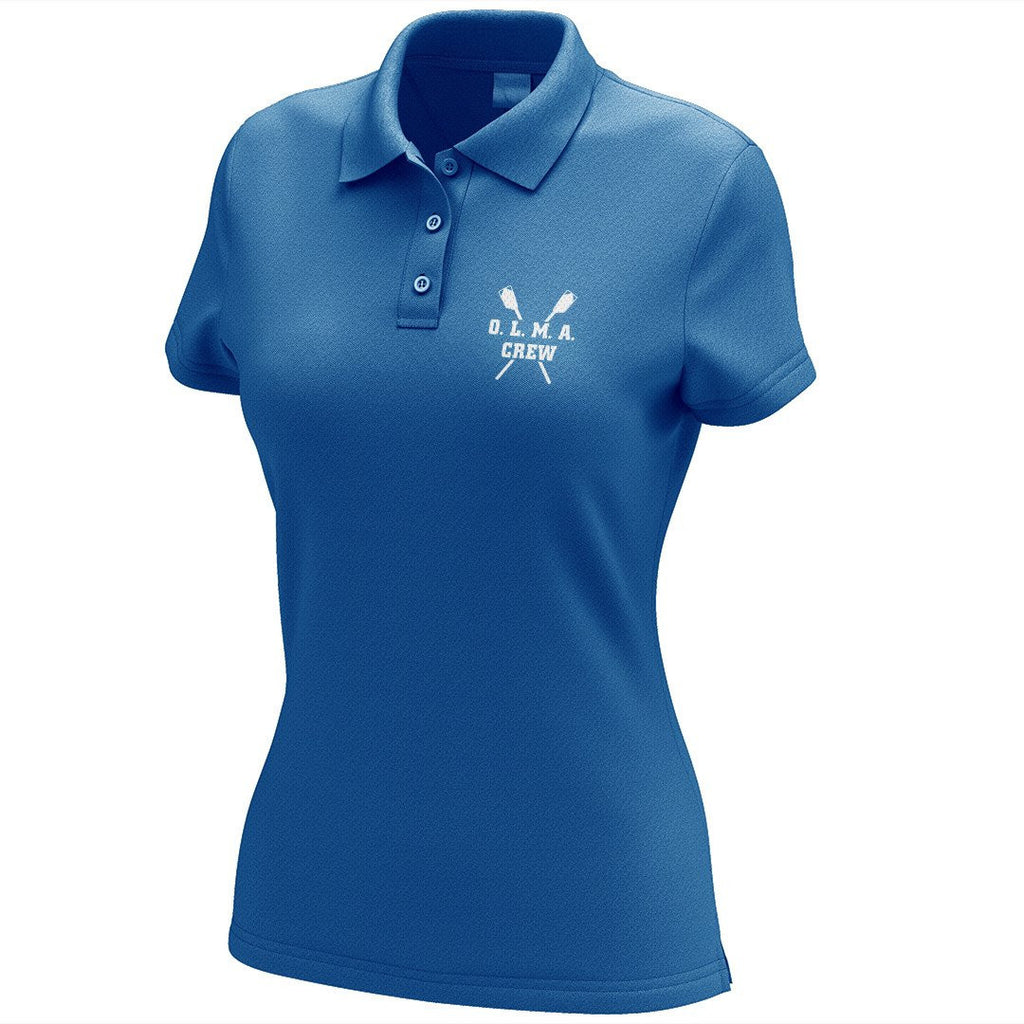 OLMA Rowing Gear Embroidered Performance Ladies Polo