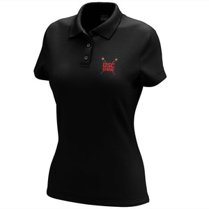 Upper St Clair Crew Embroidered Performance Ladies Polo